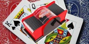 CHH Hand Crank Card Shuffler 2-Decks