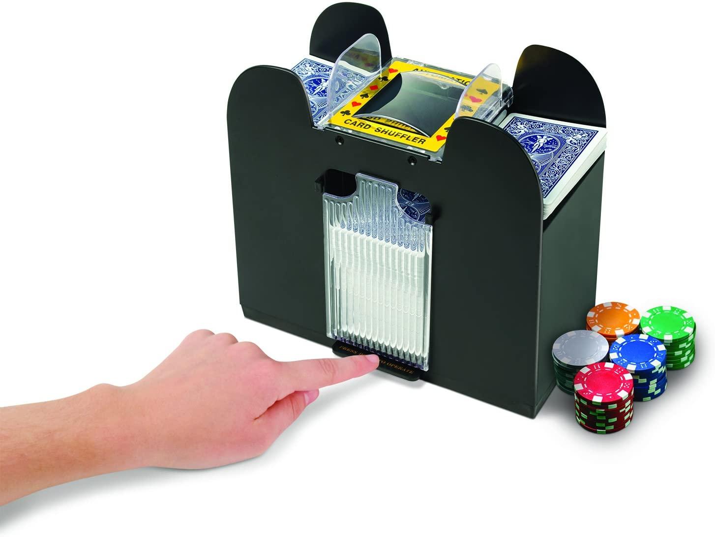Jobar 6 Decks Automatic Card Shuffler