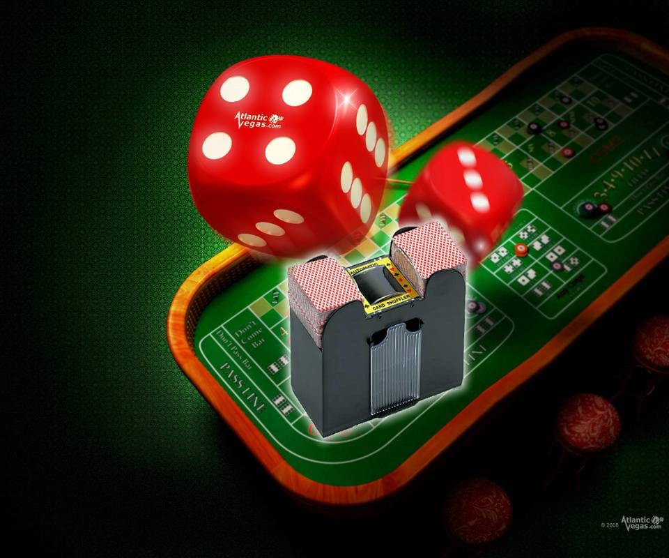 Trademark Poker card shuffler