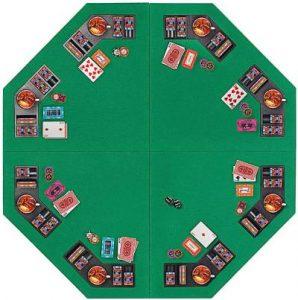 Vivohome Octagonal Foldable Poker Table Top